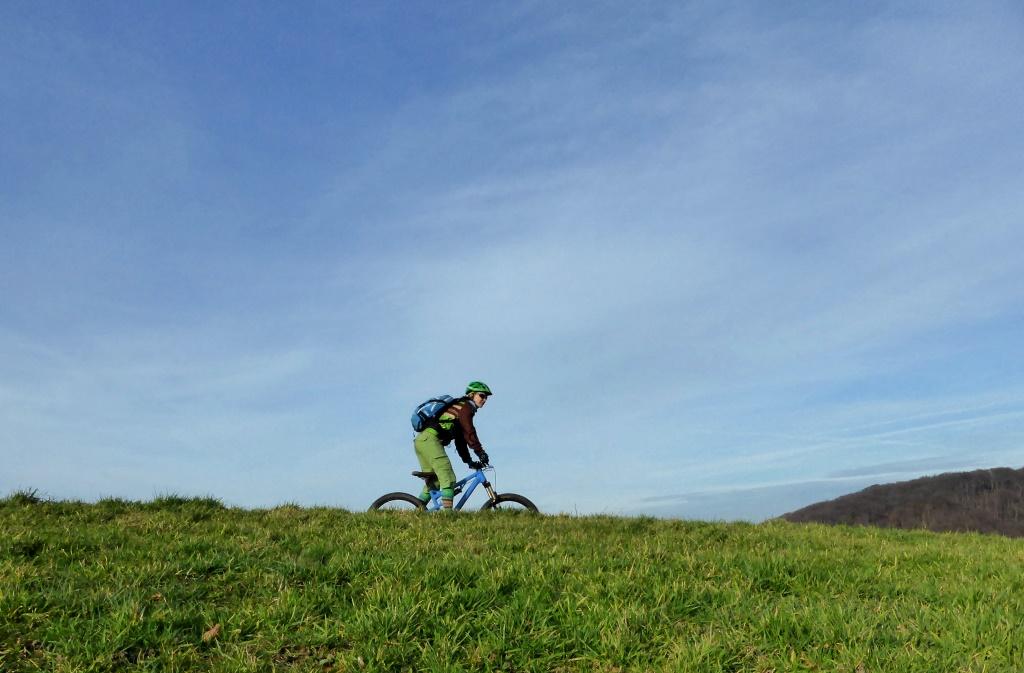 Trailige Mountainbike Tour Durch Die Elfringhauser Schweiz